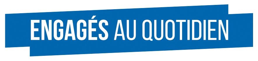 Logo engagés au quotidien