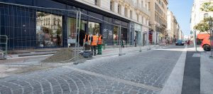 Pavés rue Pythéas