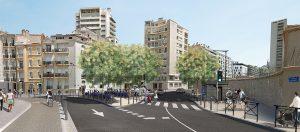 Vue 3D quartier Catalans