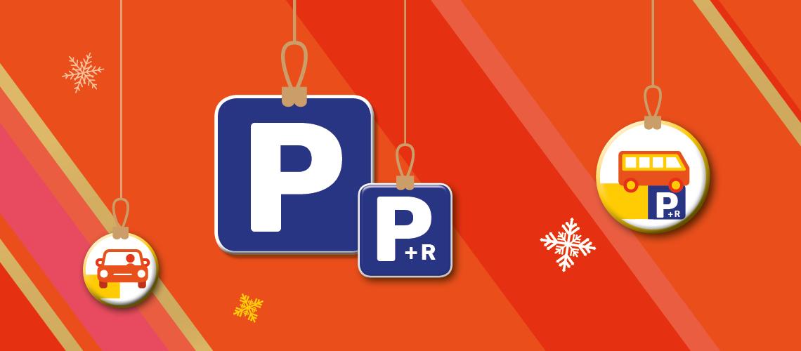 Parkings Gratuits noël