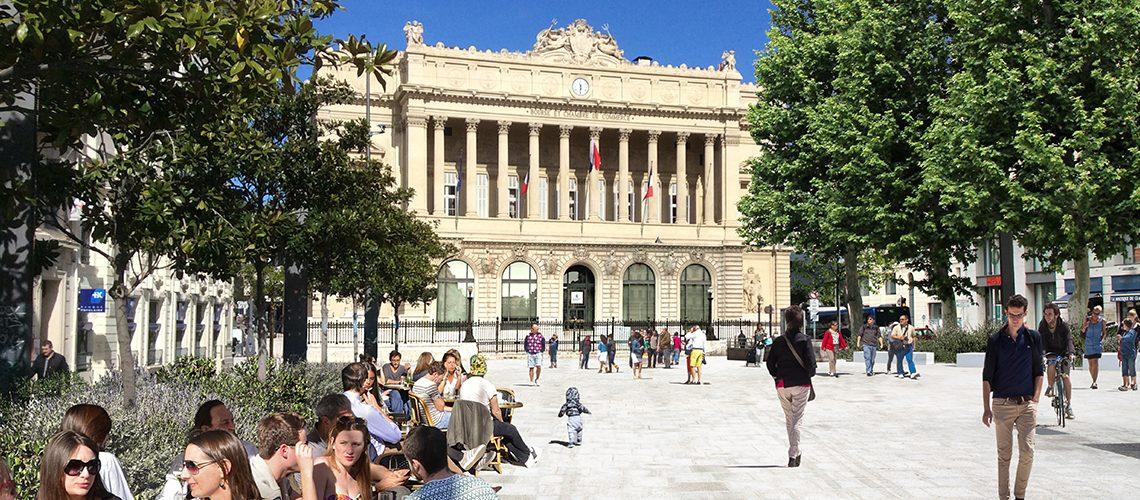 Projection 3D, Place Général-de-Gaulle