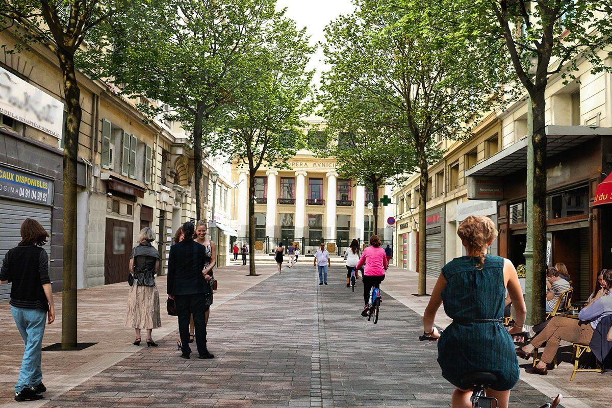 Rue Beauvau - Après