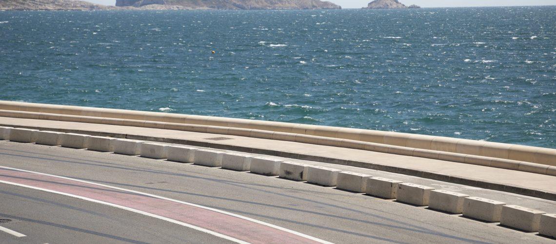 Corniche Kennedy - Marseille
