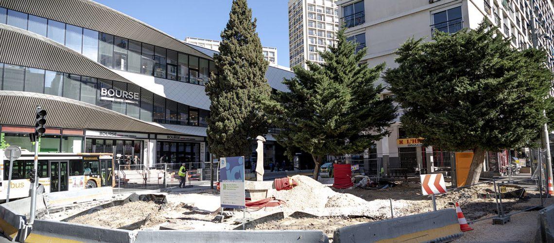 Travaux Marseille Change secteur bourse