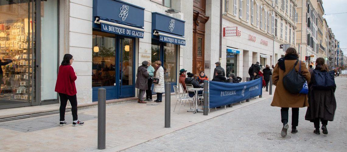 Rue Paradis, place Général de Gaulle