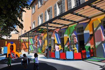 ZUS CENTRE NORD - Creche Belzunce, rue longue des Capucins - Marseille - le 19 juin 2012 - Photo: Fabien GROUE/CIT'images